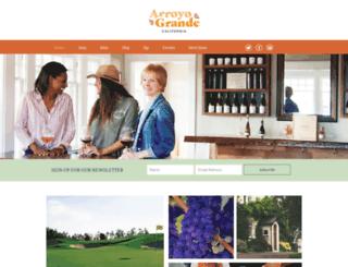 arroyograndevillage.org screenshot