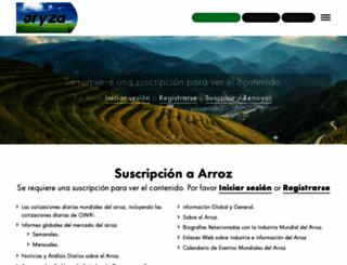 arroz.com screenshot
