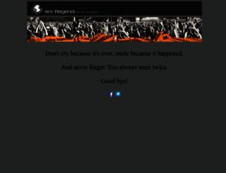 ars-regendi.com screenshot