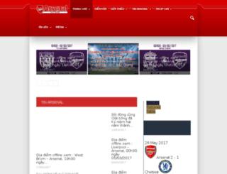 arsenal.com.vn screenshot