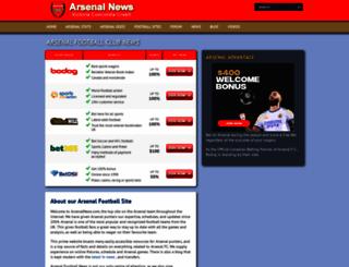 arsenalnews.com screenshot