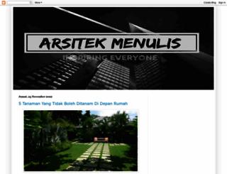 arsitekantara.blogspot.com screenshot