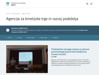 arsktrp.gov.si screenshot