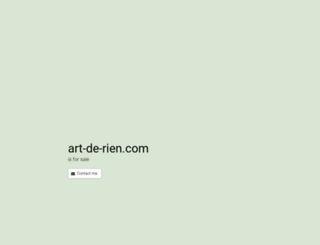 art-de-rien.com screenshot