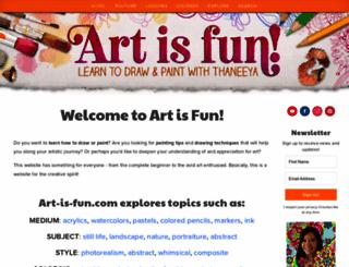 art-is-fun.com screenshot