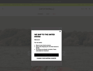 art-of-football.com screenshot
