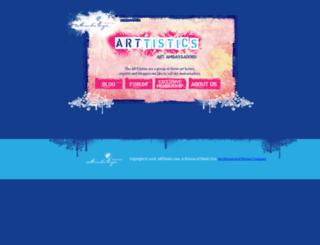 art-tistics.com screenshot