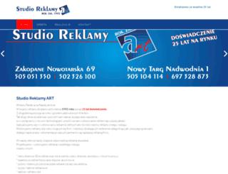 art.nowytarg.pl screenshot
