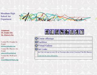 art.wmmhs.org screenshot