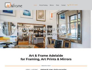artandframe.com.au screenshot