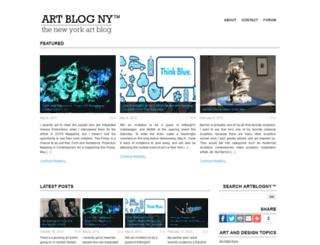 artblogny.com screenshot