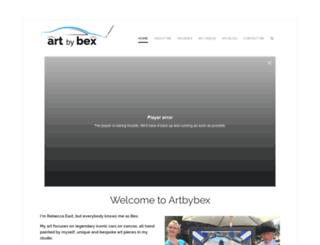 artbybex.co.uk screenshot