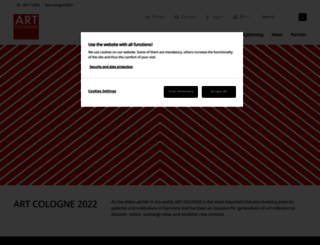 artcologne.com screenshot
