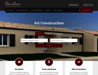 artconstruction.fr screenshot