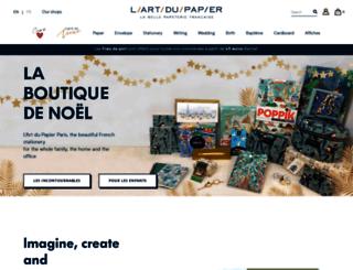 artdupapier.com screenshot