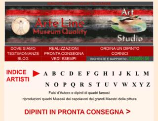 arte-line.com screenshot