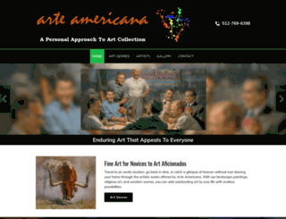 arteamericana.com screenshot