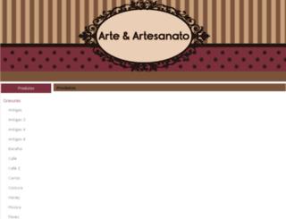 arteartesanato.com screenshot