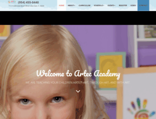 artecacademy.com screenshot
