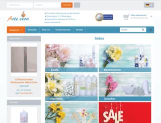 artecera.com screenshot