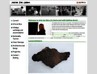 artedeobra.com screenshot