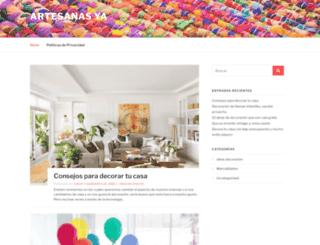 artesanasya.es screenshot