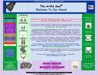 artfulsoul.com screenshot