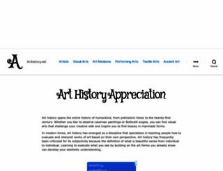 arthistory.net screenshot
