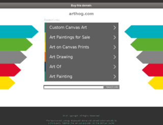 arthog.com screenshot