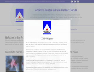 arthritiscenter.org screenshot