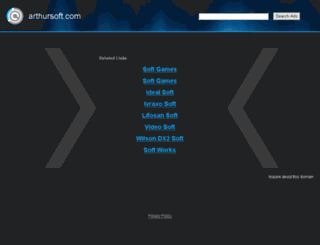 arthursoft.com screenshot