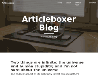 articleboxer.com screenshot