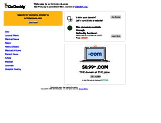 articlecreek.com screenshot