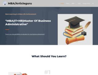 articleguru.co.in screenshot