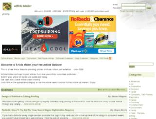 articlemailer.com screenshot