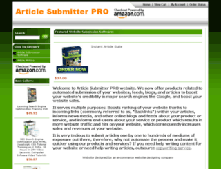 articlesubmitterpro.com screenshot