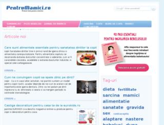 articole.pentrumamici.ro screenshot
