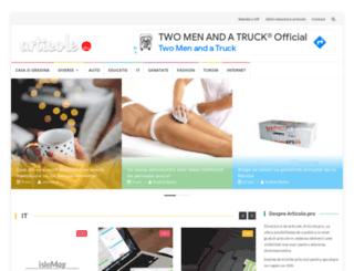 articole.pro screenshot