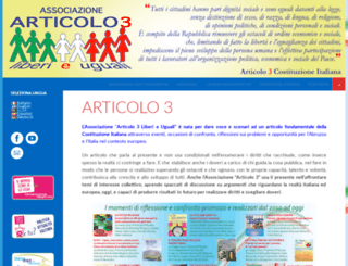articolo3.it screenshot