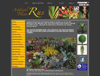 artificialplantsrus.com.au screenshot
