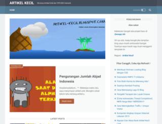 artikel-kecil.blogspot.it screenshot