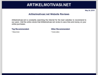 artikelmotivasi.net screenshot