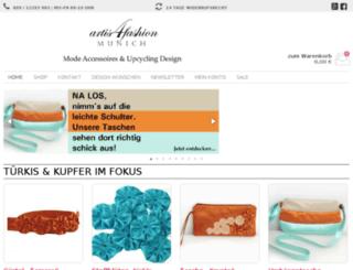 artis4fashion.com screenshot