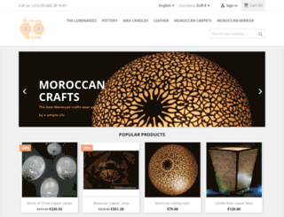 artisanat-marocaine.com screenshot