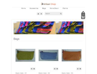 artisanshop.net screenshot