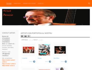 artisti-concerte.ro screenshot