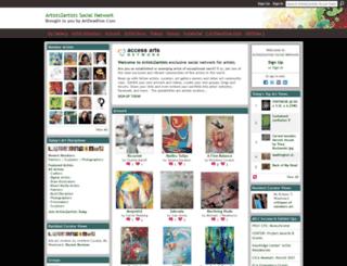 artists2artists.net screenshot