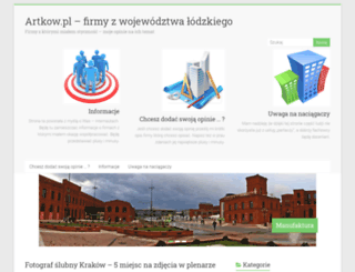 artkow.pl screenshot