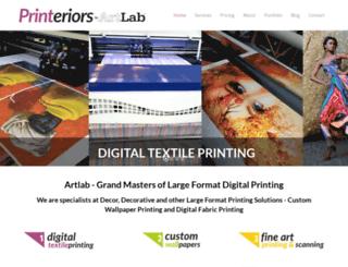 artlab.co.za screenshot