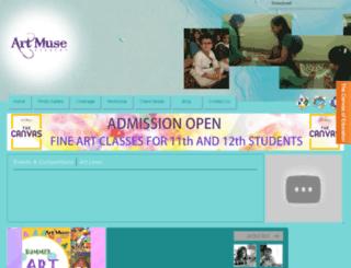 artmuseacademy.com screenshot